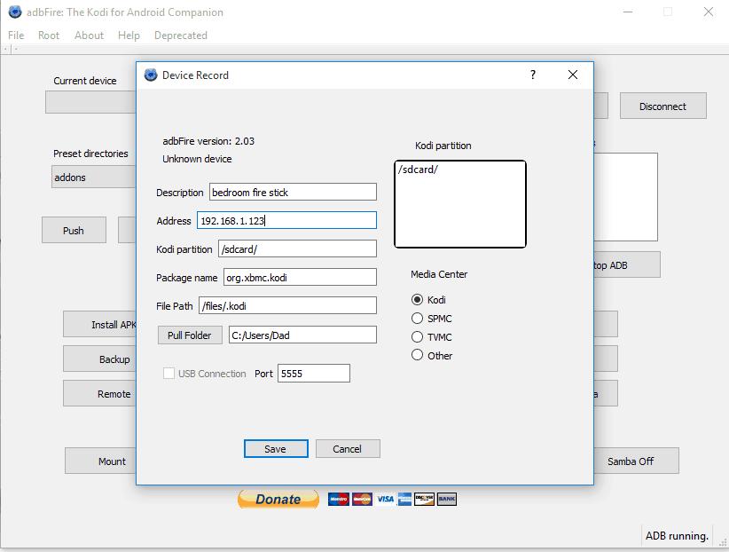 adb for kodi