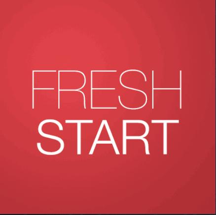 Fresh Start for kodi
