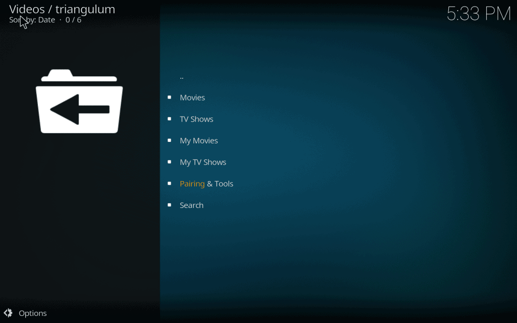 triangulum addon for kodi